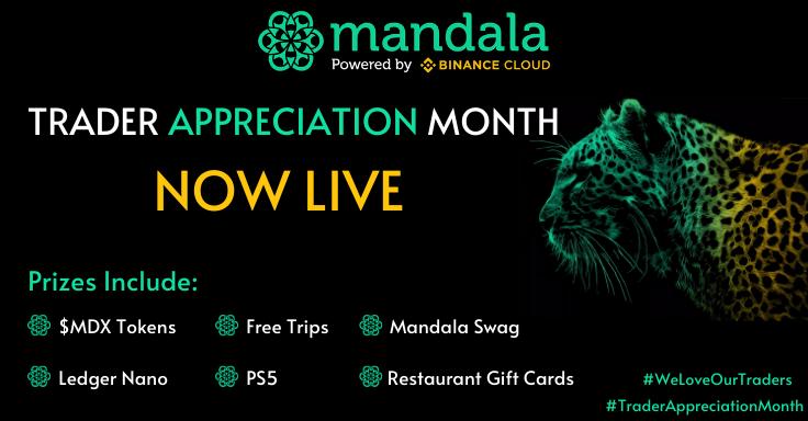 Mandala Exchange Trader Appreciation. Trade and Win